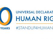 Dichiarazione Universale Diritti Umani (UDHR) compie anni dicembre 2018.