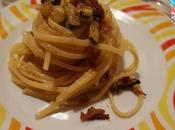Pasta zucchine pancetta uova
