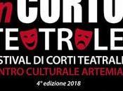 Arriva edizione festival CORTO TEATRALE CENTRO CULTURALE ARTEMIA Novembre Dicembre 2018)