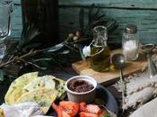 pites basilico, farcite patè olive pomodoro