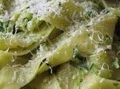 Pappardelle alle zucchine