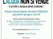 Giugno: Firenze festa chiusura campagna referendaria concerto gratuito.