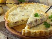 Torta rustica salsiccia, patate formaggio