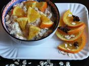 Buoni Propositi Pappa d'Avena Sapore Vacanza Arance, Miele Anice Stellato Holiday Porridge with Orange Slices, Honey Star Anise