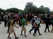 Confine Guatemala-Massico: carovane sfidano ancora volta frontiere