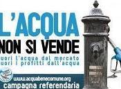 privatizzazione dell'acqua referendum 12-13 giugno 2011