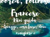 Moorea, Polinesia Francese: mini guida. Spiagge, cosa fare, dove mangiare consigli cost