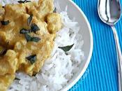 Pollo curry yogurt, riso Basmati
