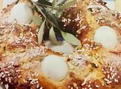 Ciambella canditi, pistacchi uova
