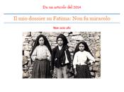 Pubblicato dossier Fatima: miracolo formato pdf, scaricatelo gratis
