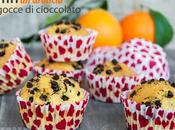 Muffin all'arancia gocce cioccolato senza glutine