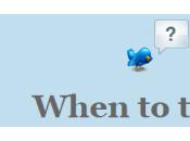 WhenToTweet: Scopri miglior momento della giornata Tweettare