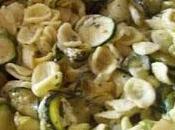 Orecchiette alla carbonara zucchine