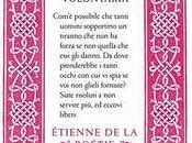 libro giorno: DISCORSO SULLA SERVITÙ VOLONTARIA Étienne Boétie (Chiarelettere). Prefazione Paolo Flores d'Arcais