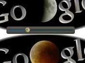 Eclissi Luna: Google dedica logo