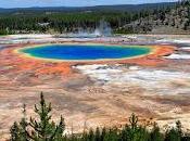 Sapevi Grand Prismatic Spring Parco nazionale Yellowstone grande sorgente calda