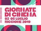 Ciné Giornate Cinema 2019, Riccione luglio