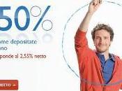 Conto Deposito InMediolanum, migliore mercato. Offre rendimento anno 3,50% zero spese acceso entro agosto
