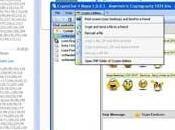 CryptoChat rendere segrete sicure chat Skype