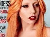 Lady Gaga rossa Rolling Stone America