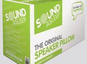 Original Sound Asleep Speaker Pillow: cuscino musicale dormire meglio