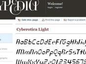 Typedia: solo font lovers