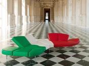 Unità d'italia, design made italy veste tricolore