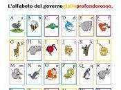 L'alfabeto governo gialloprofondorosso