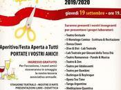 STAGIONE 2019/2020 CENTRO CULTURALE ARTEMIA riparte stasera GRAND OPENING
