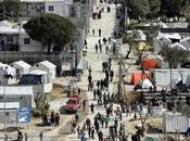 Test Rorschach campione richiedenti asilo presso Moria Camp Lesbo.