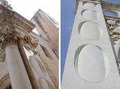Lecce: filologia antiquaria colonna inglobata riccardesca