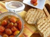 Conserva pomodorini interi basilico Ricetta facile veloce conservare Solo ingredienti