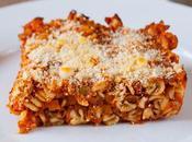 Pasta Forno Ragù Tonno