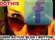 AddThis aggiungi blog bottoni condividere tuoi post