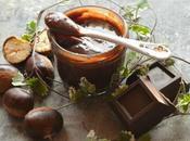 Crema spalmabile castagne cioccolato fondente Ricetta senza latte frutta secca