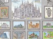 Milano ritratta annullo postale