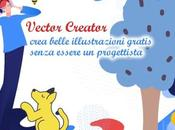 Vector Creator crea belle illustrazioni gratis senza essere progettista