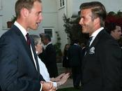 Angeles David Beckham incontra Kate William