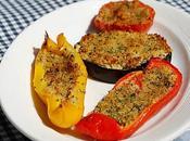 Verdure miste forno ripiene mollica saporita
