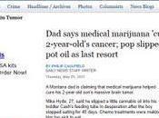 Bambino anni salva tumore cerebrale devastanti effetti della chemioterapia grazie alla somministrazione olio canapa