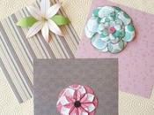 tipi Fiori Scrapbooking senza fustellatrici! Handmade paper flowers