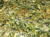 Tortino spinaci provola, forno