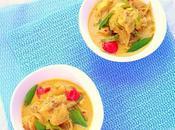 Curry Pesce Cocco pentola pressione