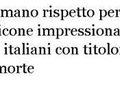 morte Pietro Taricone giornali