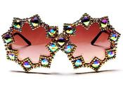 MUST HAVE: Chrystal Aurora Borealis Sunglasses Kerin Rose