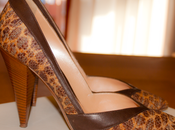 Shoeroom Vintage-Look Raffia Casadei pumps