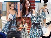 Gossip Girl Blair Waldorf Blue Dress from Vuitton Resort 2011