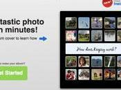 Keepsy creare album fotografici foto Instagram, Facebook Flickr