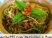 Spaghetti fagiolini tonno...quid