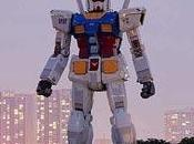 Tokyo: Gundam mostra pezzi beneficenza
